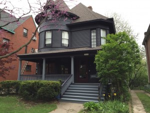 Restored Victorian in Chicago's historial Kenwood district.