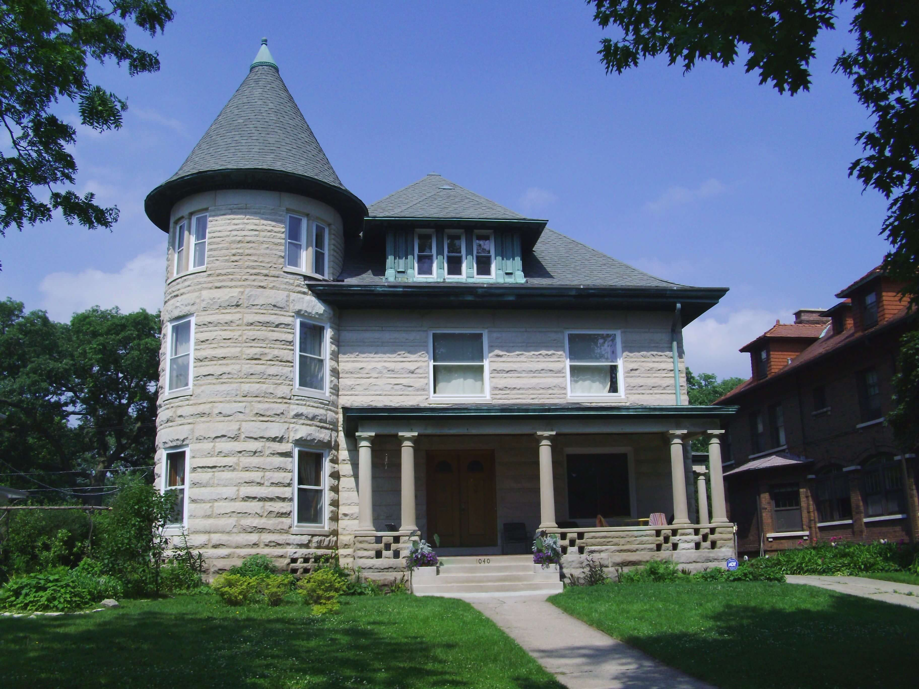 Historical Landmark Home Evanston Chicago