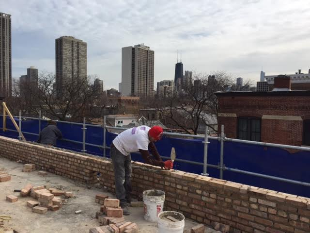 Rogers Park Brick Replacement