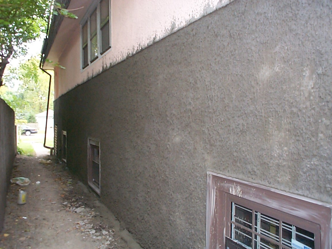 Old Irving Park Stucco Repair
