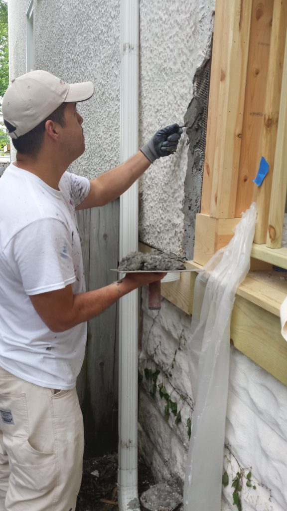 Stucco Patching Evanston
