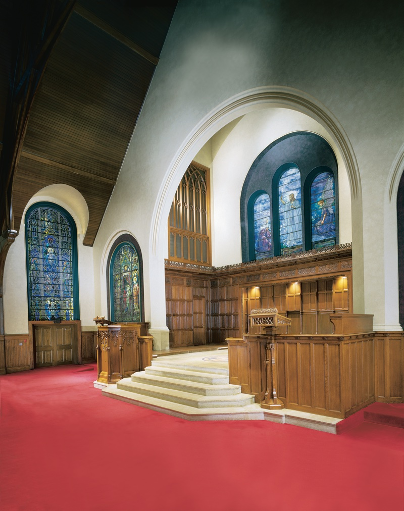 Interior Paint Preservation First Presbyterian of Lake Forest