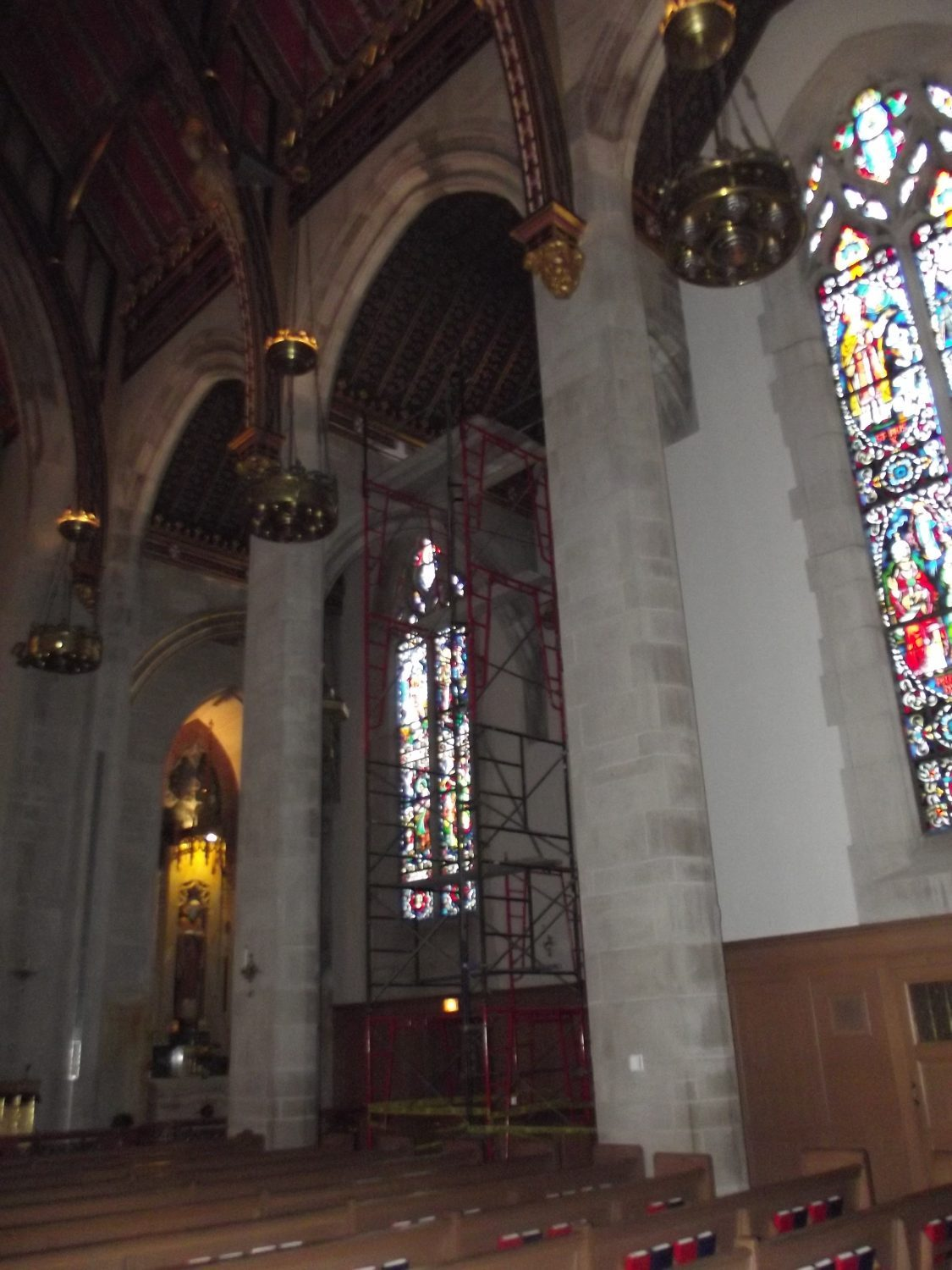 Interior Painting Services – Queen of All Saints Basilica, North Chicago