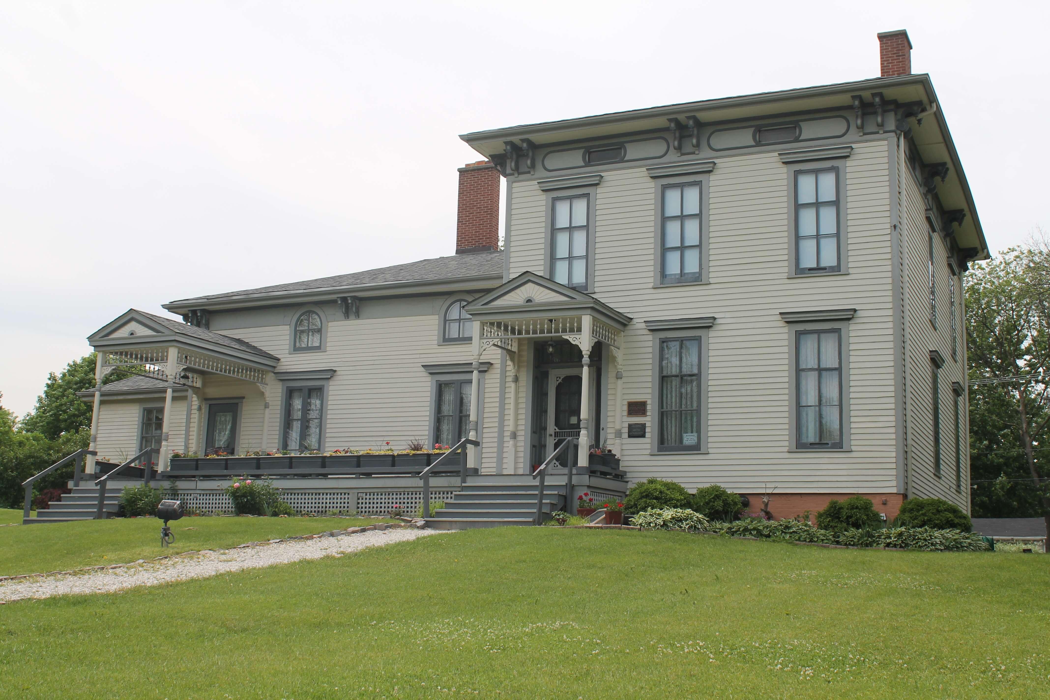 Masonry Work Noble Seymour Crippen House Norwood Park