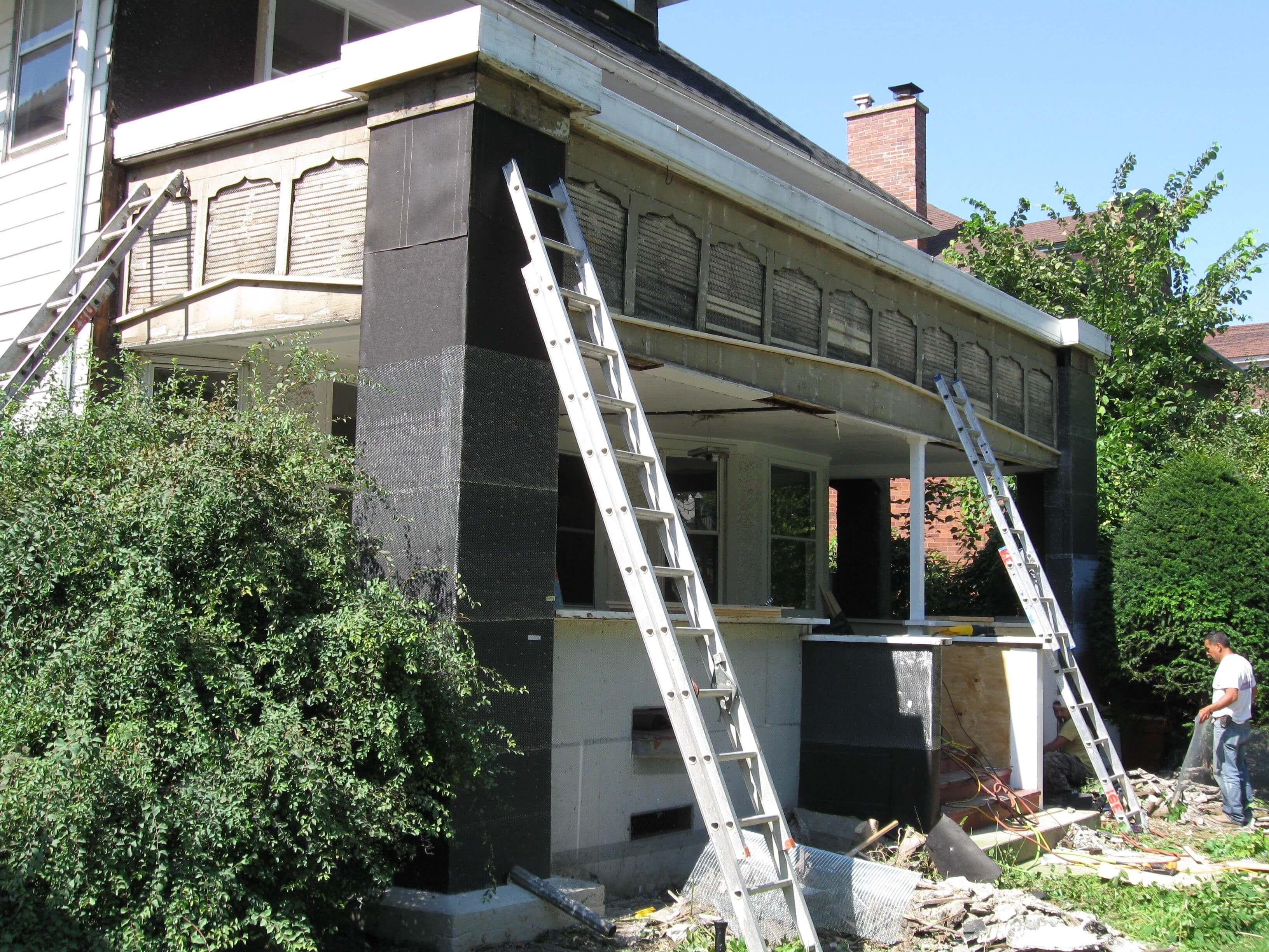 Stucco Restoration Work