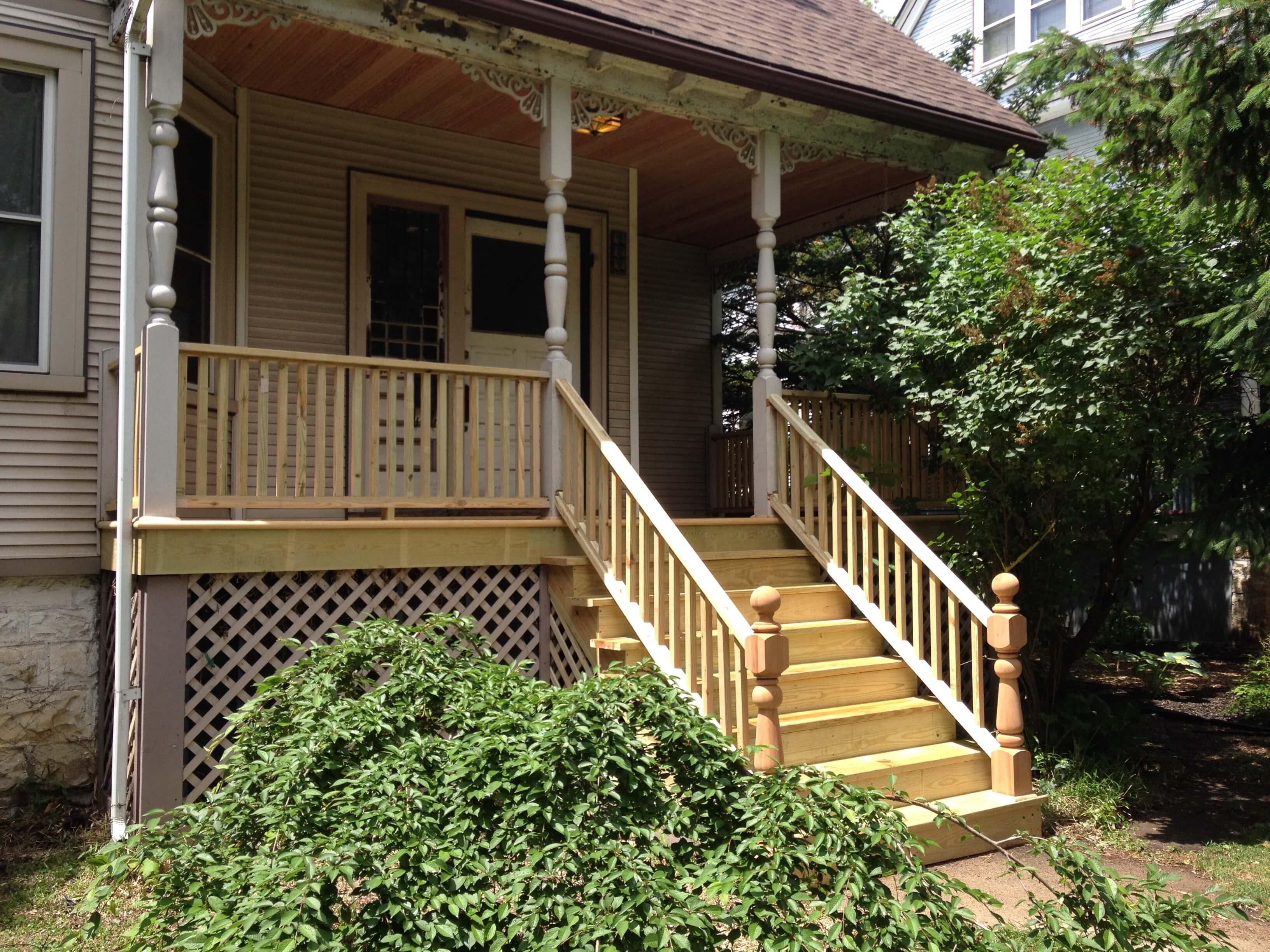 Porch & Deck Restoration Wilmette