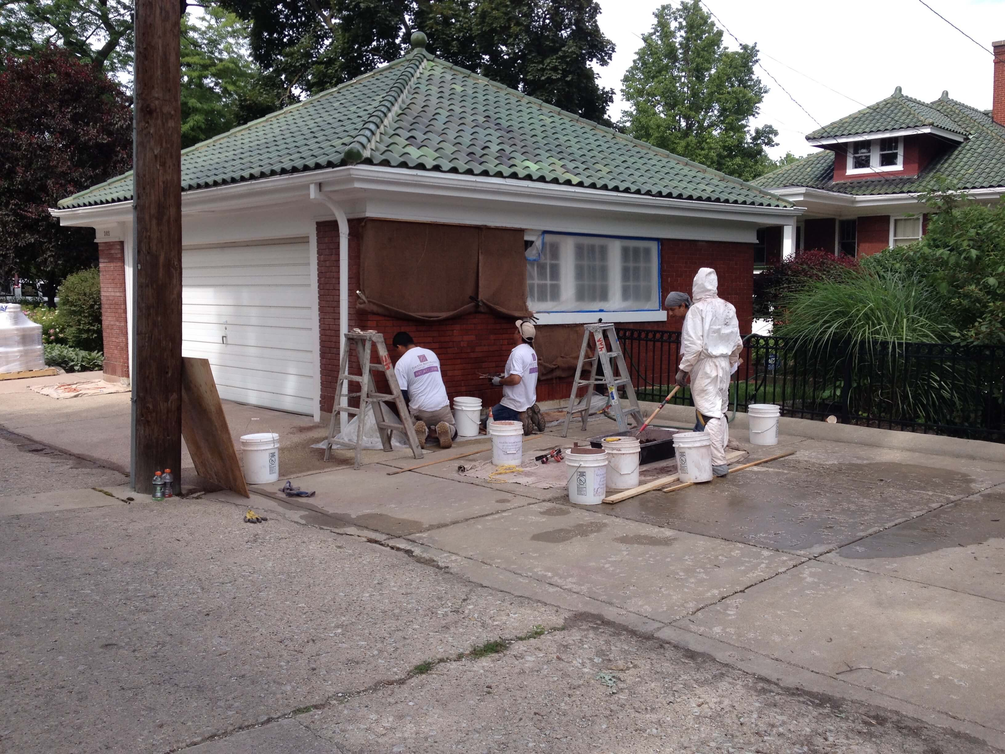 Tuckpointing Services Lake Forest