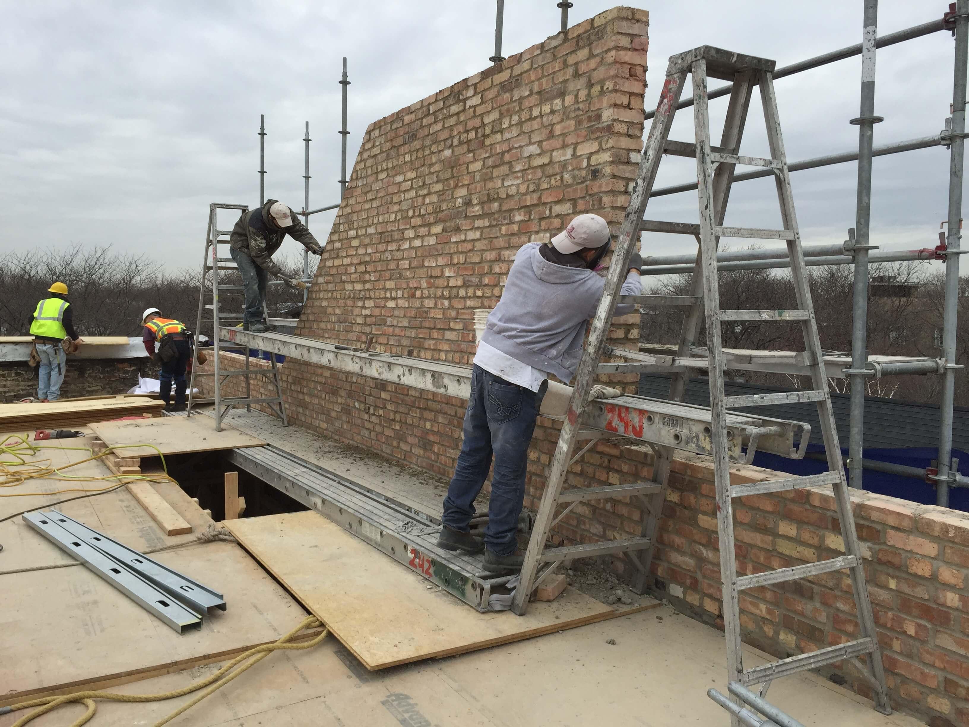 Edgewater Brick Replacement