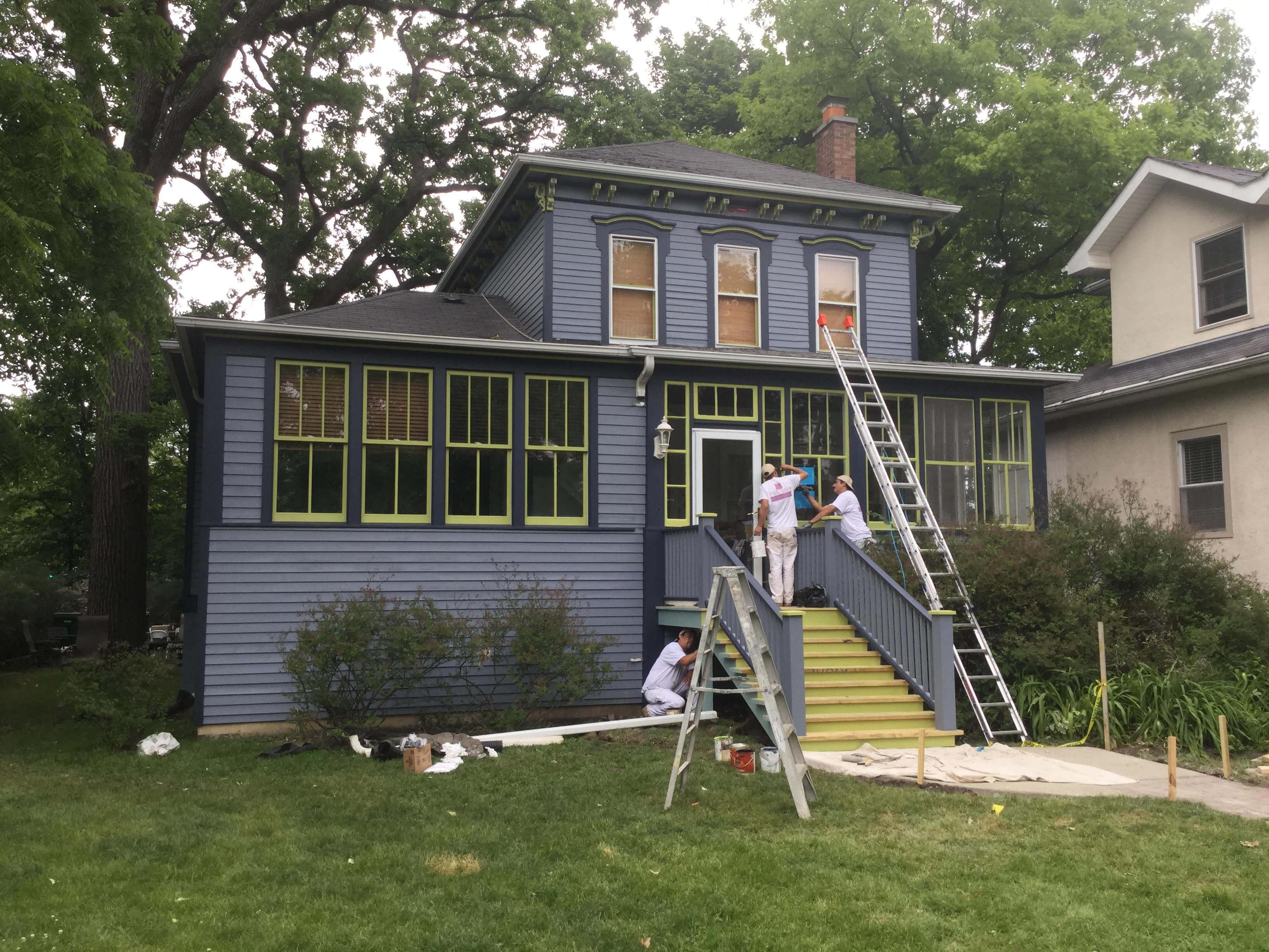 Residential Exterior Painting Oak Park