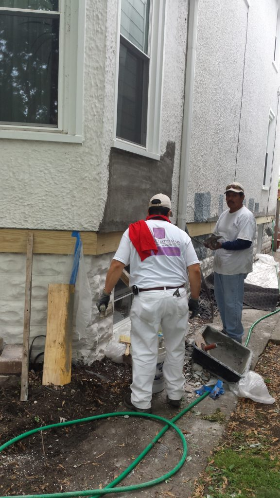 Stucco Patching Wilmette