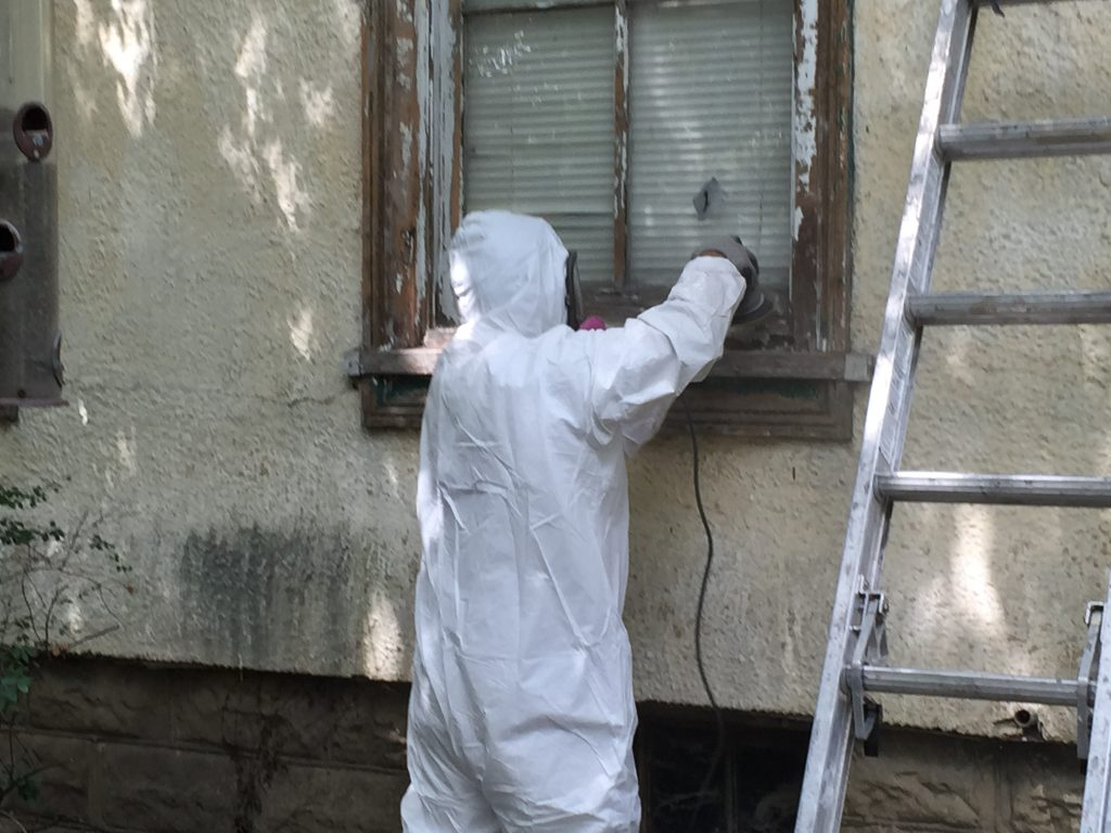 Old Irving Park Paint Job Preparation