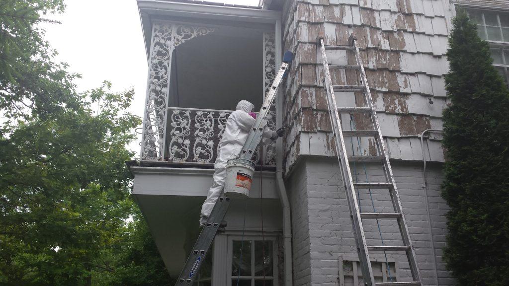 Paint Job Preparation Lincoln Park Chicago