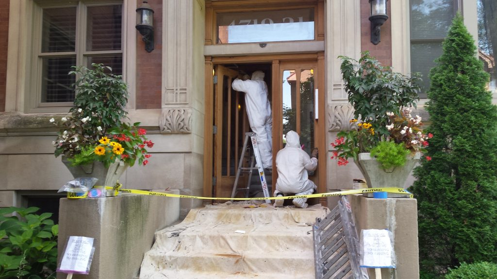 Paint Job Preparation Kenwilworth Chicago