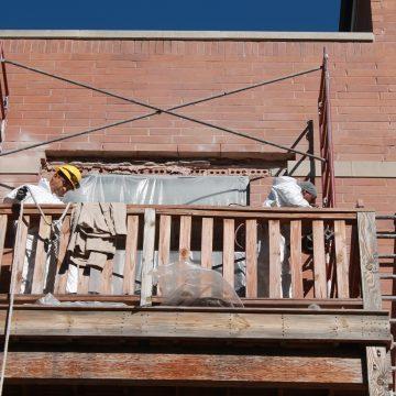 Renovation of balcony