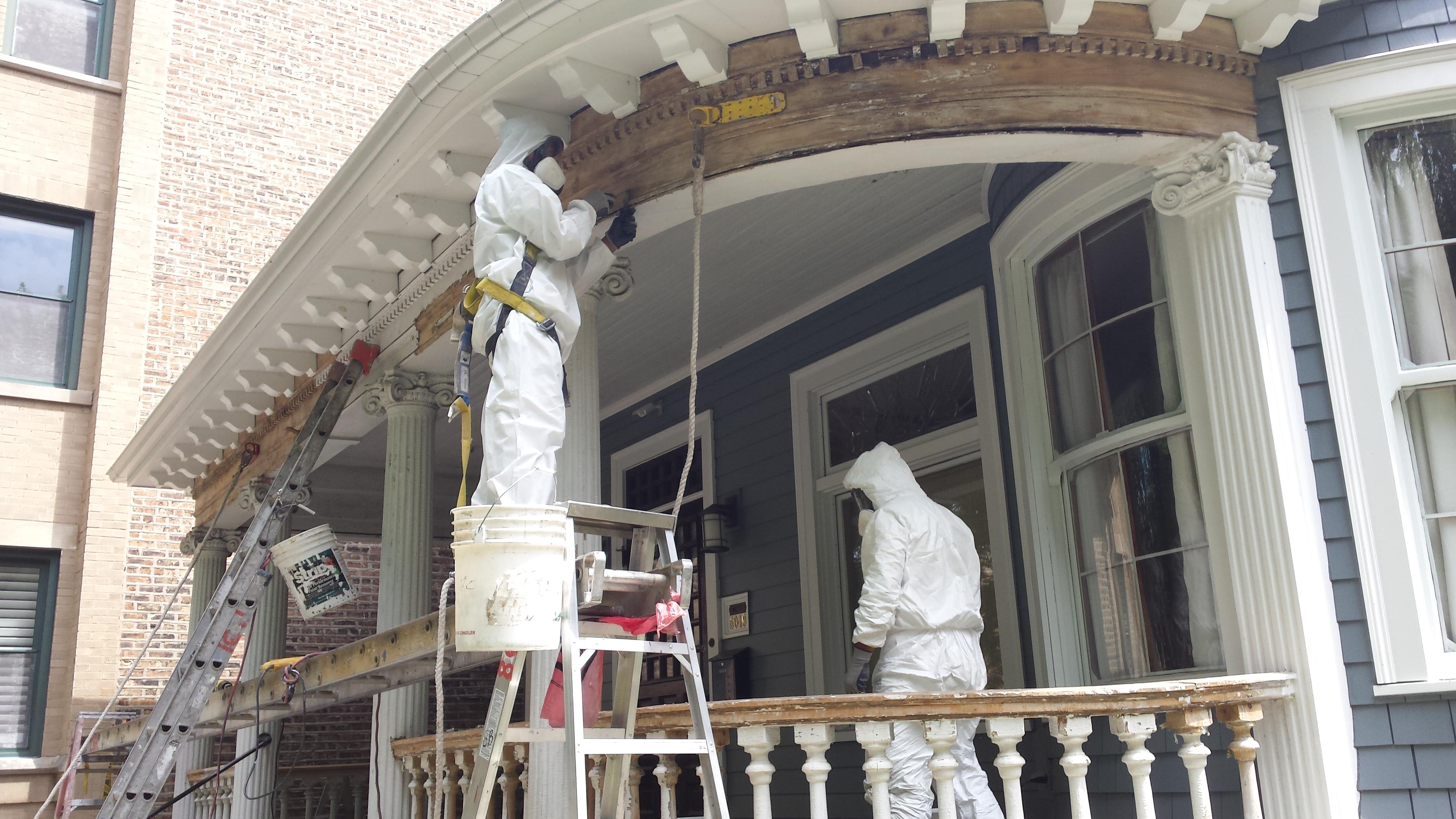 Lincoln Park Chicago Paint Job Preparation