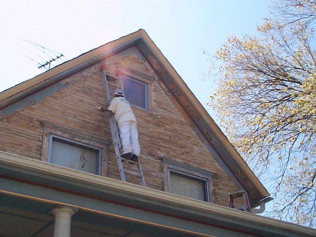Hinsdale Chicago Paint Job Preparation