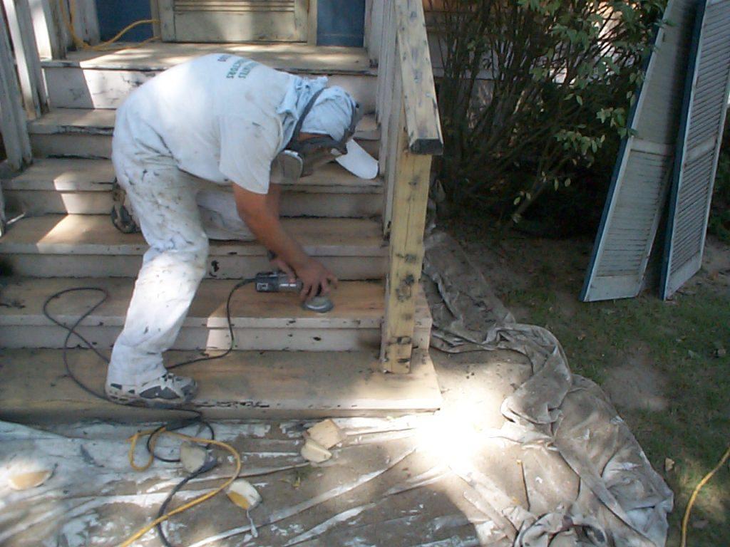 Paint Job Prep Work Wilmette