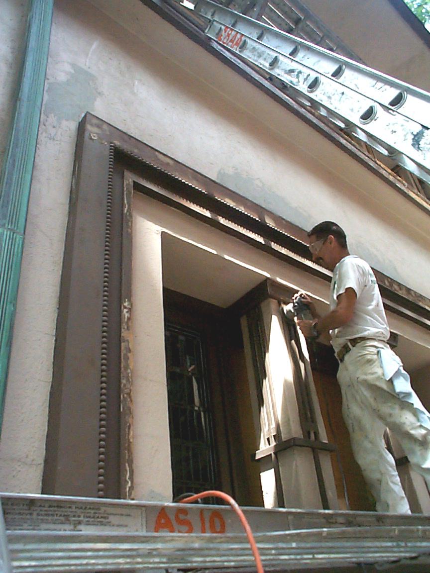 Paint Job Prep Work Bucktown