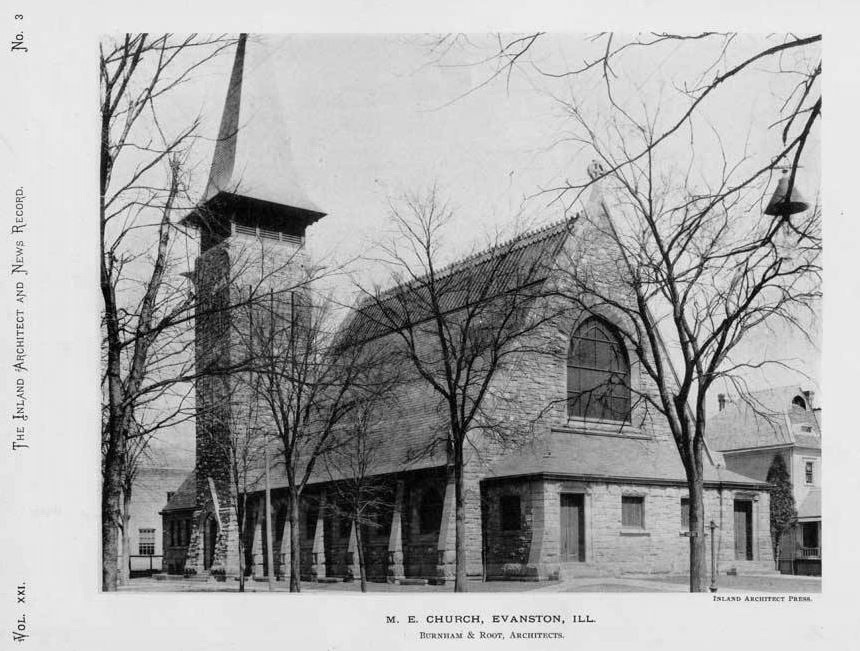 Masonry Work Emmanuel United Methodist Church, Evanston