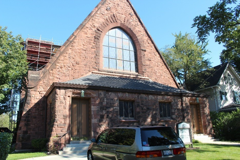 Brick Repair Emmanuel United Methodist Church, Evanston