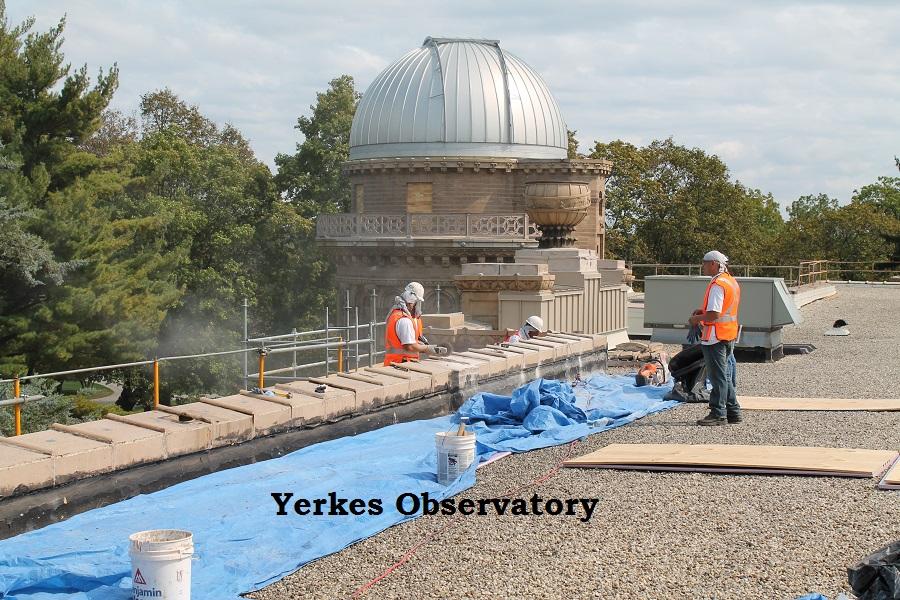 Yerkes observatory work