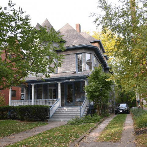 The front of a home after a renovation